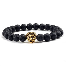 Load image into Gallery viewer, Natural Essential Oil Bracelets w Charm - Global Shipping - Use THANKYOU for 20% off Entire Order.