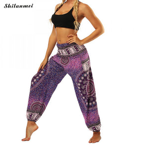 Beautiful Loose Yoga Trousers - Global Shipping - Use THANKYOU for 20% off Entire Order.