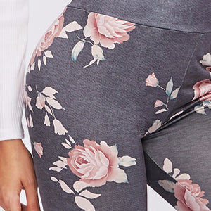 Women Floral Printed High Waist Yoga Pants - Global Shipping - Use THANKYOU for 20% off Entire Order.