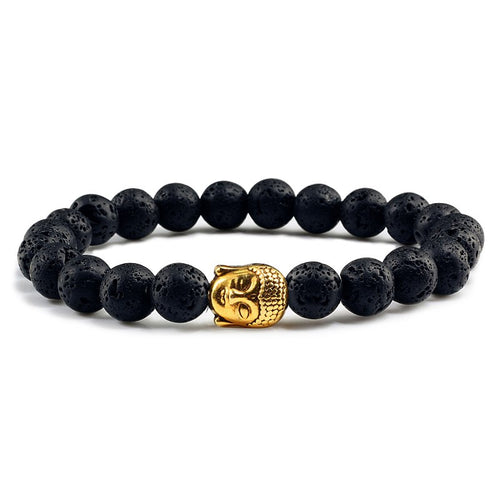 Natural Essential Oil Bracelets w Charm - Global Shipping - Use THANKYOU for 20% off Entire Order.