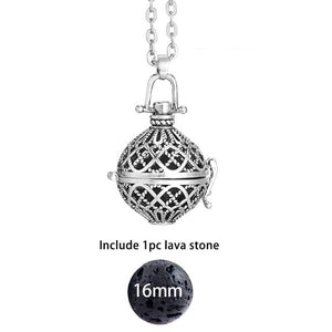 Essential Oil Vintage Glow Diffuser Necklace - Global Shipping - Use THANKYOU for 20% off Entire Order.
