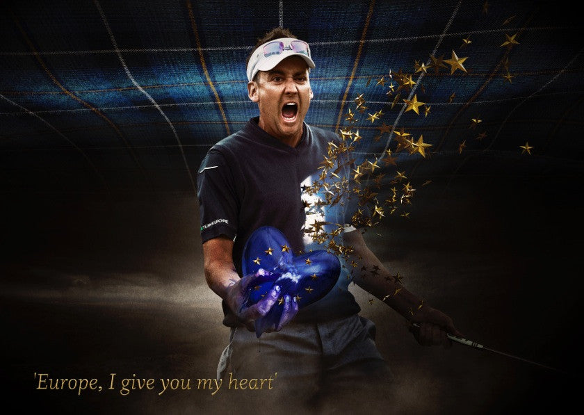 Ian Poulter Ryder Cup Print