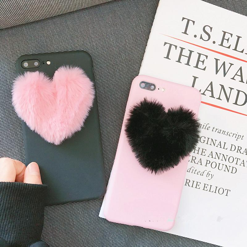 PLUSH PHONE CASE - FOR IPHONE