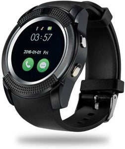 Bluetooth Smartwatch With Sim & Tf Card Support