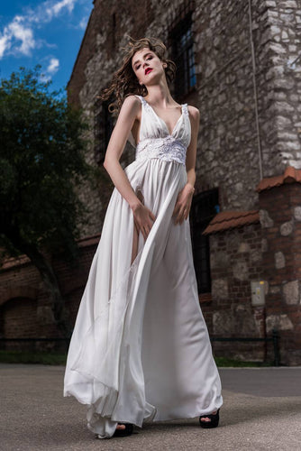 Wedding dress, lace, shiffon, greek dress