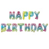 "Happy Birthday 17"" Foil Balloon - Multi"