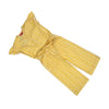 Woven Candy Jump Suit For Girls - Yellow (010)