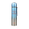 Fancy Stainless Steel Water Bottle 600ml - Sky Blue (8386)