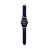 Sports Wrist Watch - Black/Blue (WW-22)