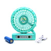 Portable Table Fan For Kids - Green (E18)