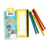 Triangular Flexible Colouring Pencil - 5 PCs (CP-04)