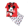 Mickey Mouse 2 PCs Suit For Boys - Red (SB-037)