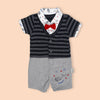 Fancy Romper For Boys - Navy (1215)