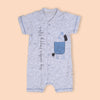 Fancy Romper For Boys - Grey (236197)