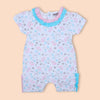Flower Printed Romper For Boy - White (104-037)