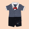 Fancy Romper For Boys - Blue (1215)