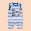 Best Day Romper For Boys - Blue (2582)