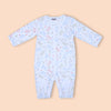 Dinosaur Printed Romper For Boy - White (104-064)