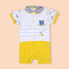 Fancy Romper For Boys - Yellow (2992)
