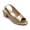 Heels Sandals For Girls - Golden (U-3)