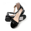 Stylish Heel Sandals For Girls - Black (B335-3S)