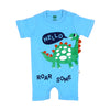 Dino Fashion Romper For Boys - Blue (IS-20)