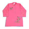 Embroidery Kurti For Girls - Pink (EK-029)