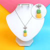 Pineapple Chain Locket For Girls (12537)