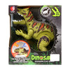 Dinosaur Play World Toy For Kids - Green (KQX-15)