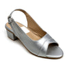 Heels Sandals For Girls - Silver (U-3)