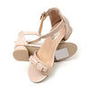 Stylish Heel Sandals For Girls - Apricot (B335-3S)