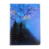 Star Printed Note Book For Kids - Blue (06731)