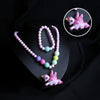 Unicorn Lighting Necklace - Rose Pink (14036-1)