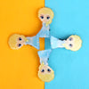 Character Hair Pin For Girls - Blue (12024-Z)