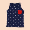Anchor Sando For Boys - Navy (BS-18)