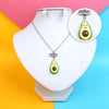Avocado Chain Locket For Girls (12537)