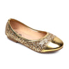 Glitter Pumps For Girls - Golden (SP-15)