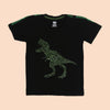 Dinosaur World T-Shirt For Boys - Black (BTS-059)