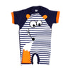 Cat Fashion Romper For Boys - Navy (IS-18)