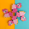 Character Hair Pin For Girls - Pink (12024-U)