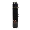 Fancy Stainless Steel Water Bottle 600ml - Navy (8386)