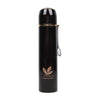 Fancy Stainless Steel Water Bottle 600ml - Maroon (8386)