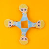 Character Hair Pin For Girls - Blue (12024)