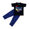 Space Ranger Printed Night Suit For Boys - Navy (007)