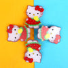 Character Hair Pin For Girls - Red (12024-Y)