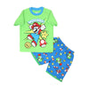 Super Mario 2 PCs Suit For Boys - Green (SB-035)
