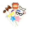 Happy Birthday Photo Props Multi - 20 Pcs (1585-D)