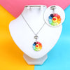 Sunflower Chain Locket For Girls (12537)