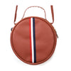 Fancy Round Shape Hand Bag - Brown (004)