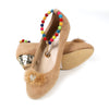 Girls Wedges Pumps JD-1008B - Beige